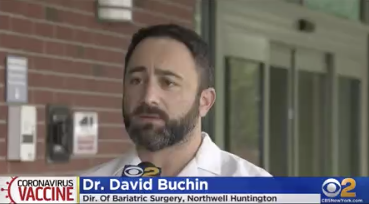 CBS, Fox DC and PIX11 Interviews Dr. Buchin on His Thoughts on the Covid-19 Vaccine