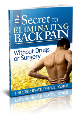 eliminating back pain report