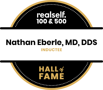 realself 100 and 500 logo