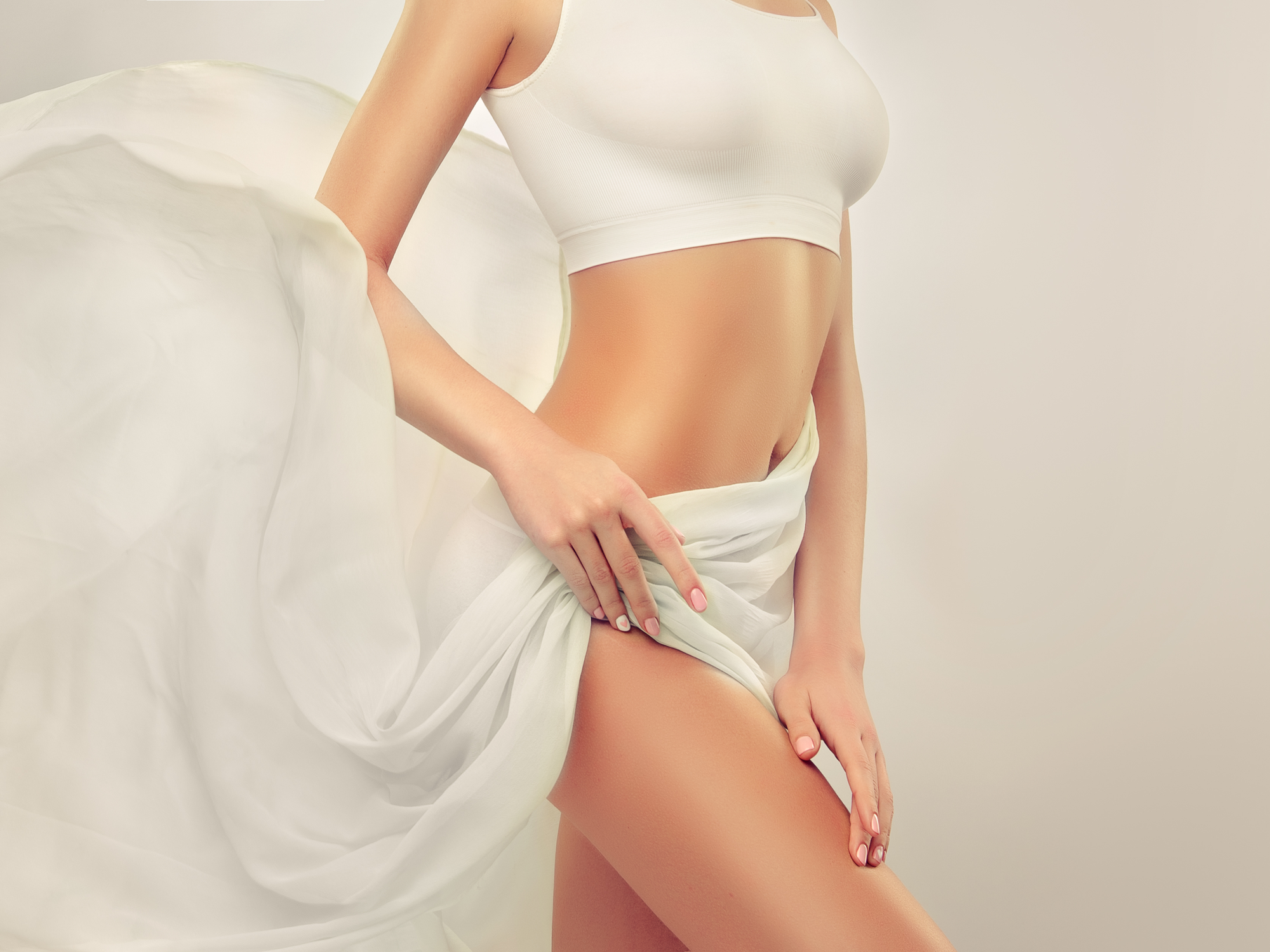 Slim, Toned, Young Woman