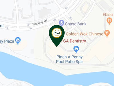 Map Directions to PGA Dentistry