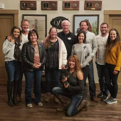 October 2018 - Zerlotti Equine, Patty Briggs and friends