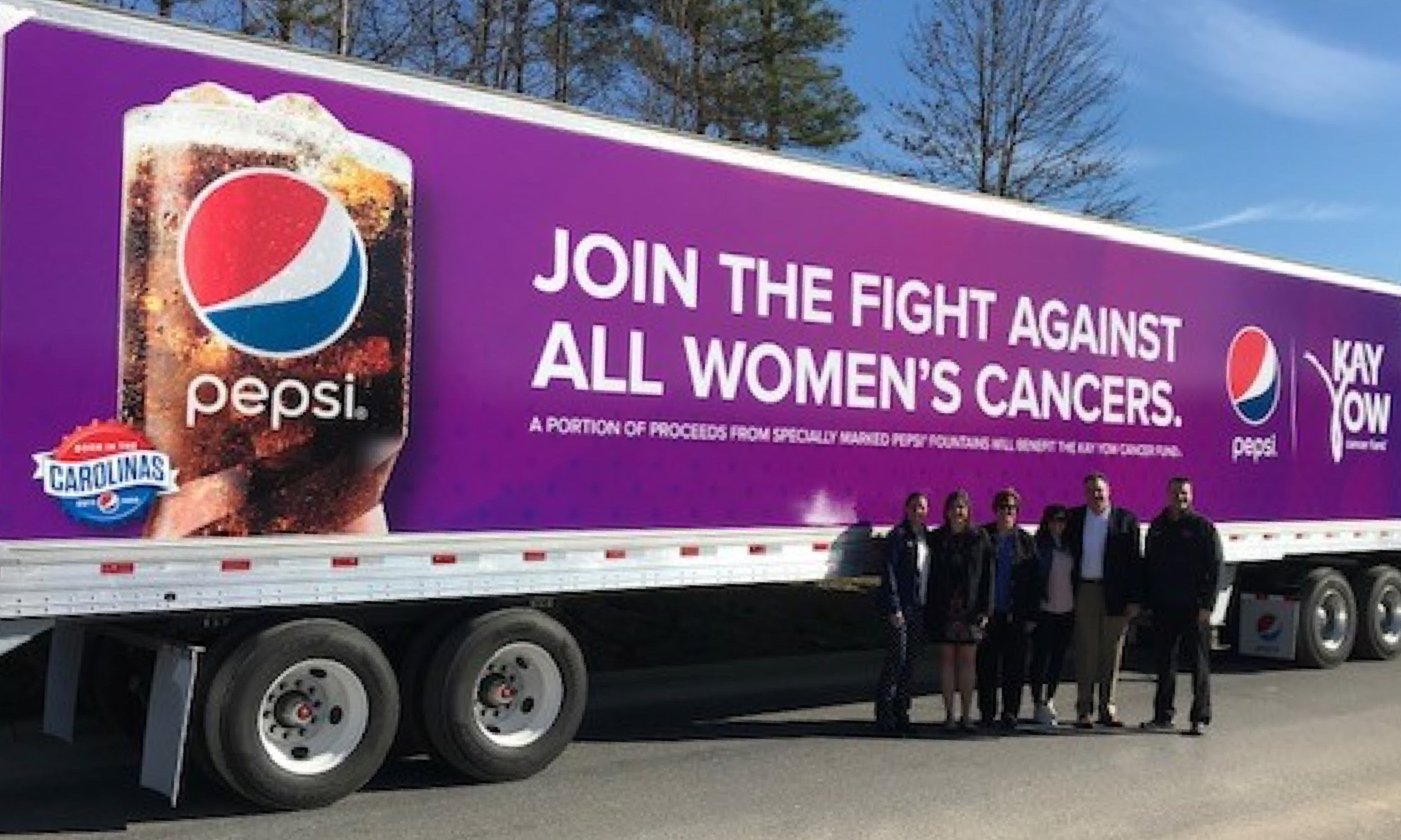 Pepsi Partners with the Kay Yow Cancer Fund Hero Image