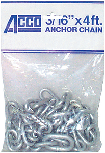WHITE VINYL CHAIN  (#251-406980506) - Click Here to See Product Details