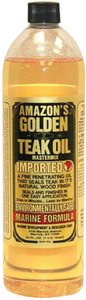 GOLDEN TEAK OIL (#579-GTO150) - Click Here to See Product Details