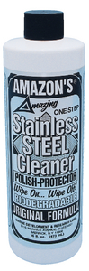 STAINLESS STEEL CLEANER (#579-SS125) - Click Here to See Product Details
