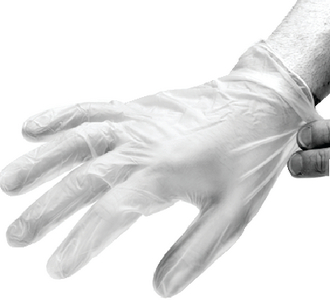 TEXTURED POWDERED LATEX GLOVES (#674-TL46100) - Click Here to See Product Details