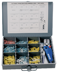 257 PIECE HEAT SHRINK CONNECTOR KIT (#639-320001) - Click Here to See Product Details