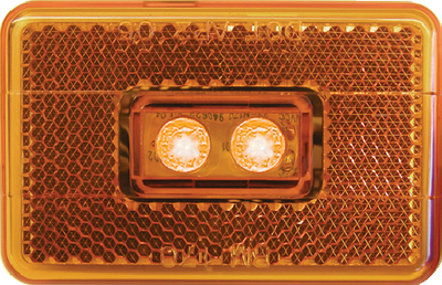 PIRANHA<sup>&reg;</sup> LED CLEARANCE/SIDEMARKER w/REFLEX (#177-V170A) - Click Here to See Product Details
