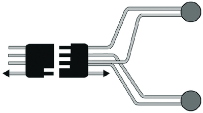 SPLIT TRAILER HARNESS (#177-V5425Y) - Click Here to See Product Details