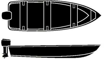 ROAD READY<sup>TM</sup> V-HULL FISHING BOATS - O/B (#23-17454) - Click Here to See Product Details