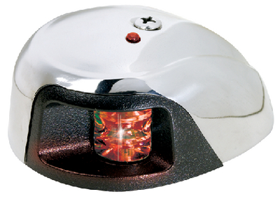 LED STAINLESS STEEL DECK MOUNT SIDE LIGHT  (#23-3530R7) - Click Here to See Product Details