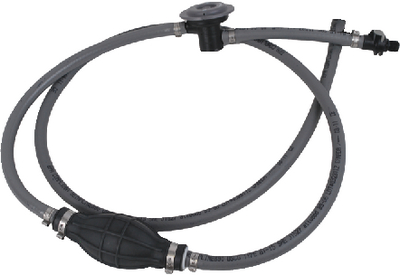 FUEL LINE HOSE KIT WITH FUEL DEMAND VALVE & SPRAYLESS CONNECTOR (#23-93806YUSD7) - Click Here to See Product Details