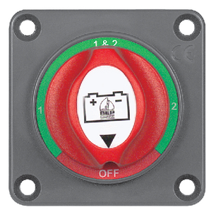 701-S MINI BATTERY SELECTOR SWITCH (#69-701SPM) - Click Here to See Product Details