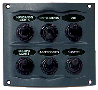 SPRAY PROOF SWITCH PANEL (#69-9006WP) - Click Here to See Product Details