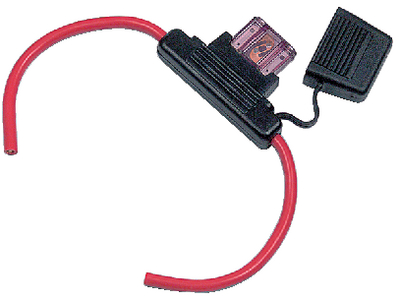 HEAVY DUTY IN-LINE FUSE HOLDER (#69-HDBFH) - Click Here to See Product Details