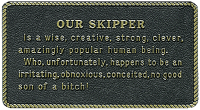FUN PLAQUE (#22-FP033) - Click Here to See Product Details