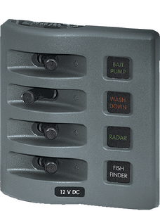 WEATHERDECK<sup>TM</sup> WATER RESISTANT FUSE PANEL (#661-4304) - Click Here to See Product Details