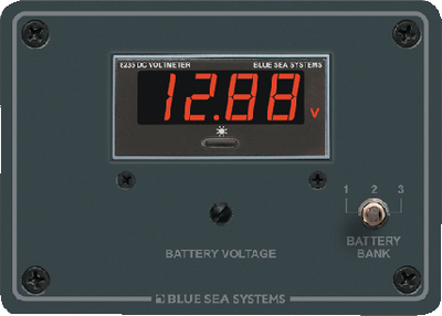 DC DIGITAL VOLTMETER PANEL (#661-8051) - Click Here to See Product Details