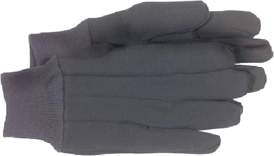 BROWN JERSEY GLOVES (#280-4020) - Click Here to See Product Details