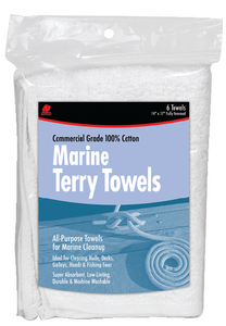 MARINE COTTON TERRY TOWELS (#199-60244) - Click Here to See Product Details