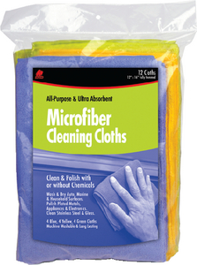 MICROFIBER CLEANING CLOTHS (#199-65003) - Click Here to See Product Details