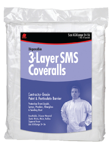 SMS DISPOSABLE COVERALLS (#199-68524) - Click Here to See Product Details