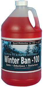 WINTER BAN -100? ANTIFREEZE (#117-30787) - Click Here to See Product Details