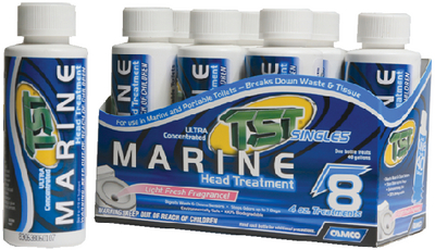 TST<sup>®</sup> MARINE HEAD TREATMENT - SINGLE DOSE (#117-41361) - Click Here to See Product Details