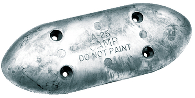 HULL PLATE - ZINC (#70-A25) - Click Here to See Product Details
