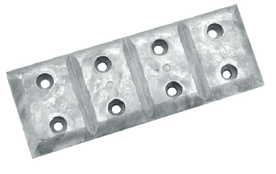 HULL PLATE - ZINC (#70-A40) - Click Here to See Product Details