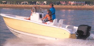 V-HULL CENTER CONSOLE FISHING WITH HIGH BOW RAILS  (#500-70018P) - Click Here to See Product Details