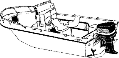 V-HULL CENTER CONSOLE FISHING WITH HIGH BOW RAILS  (#500-70019P) - Click Here to See Product Details