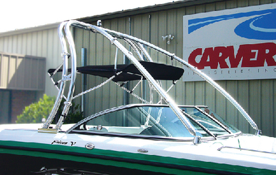 UNIVERSAL TOWER ASSEMBLED BIMINI TOP (#500-A2678TBD2) - Click Here to See Product Details