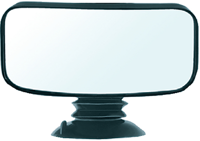 SUCTION CUP MIRROR (#626-11050) - Click Here to See Product Details