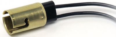 STANDARD BAYONET BASE SOCKET (#12-26100BP) - Click Here to See Product Details