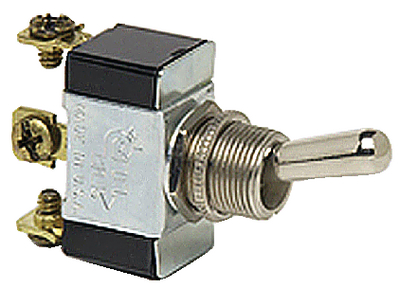 HEAVY-DUTY SINGLE POLE TOGGLE SWITCH (#12-55021BP) - Click Here to See Product Details