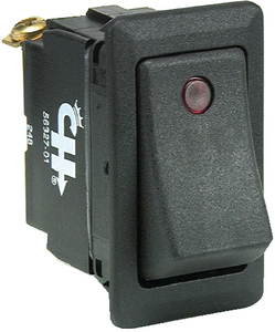 WEATHER RESISTANT ROCKER SWITCH w/DEPENDENT PILOT LIGHTS (#12-5632701BP) - Click Here to See Product Details