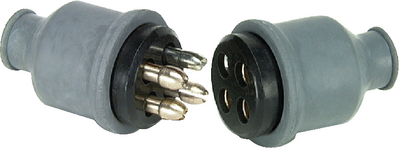 ROUND BODY TYPE CONNECTOR (#12-M115BP) - Click Here to See Product Details