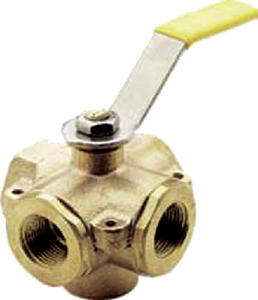 5-PORT FUEL TANK SELECTOR BALL VALVE (#37-7812401) - Click Here to See Product Details