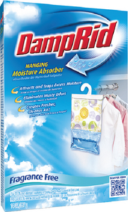 FRAGRANCE FREE HANGING MOISTURE ABSORBER (#689-FG80FF) - Click Here to See Product Details