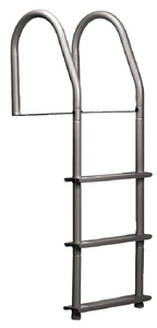 WELDED HEAVY DUTY ALUMINUM FIXED LADDER (#686-2013F) - Click Here to See Product Details