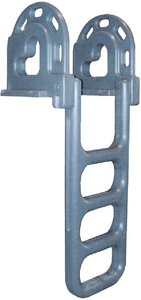 ROTO MOLDED FLIP-UP DOCK LADDER (#686-2064F) - Click Here to See Product Details
