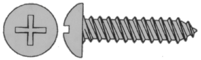 PHILLIPS SELF-TAPPING SCREW - PAN HEAD (#4-0191) - Click Here to See Product Details