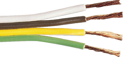 SAE BARE COPPER MULTI-CONDUCTOR PARALLEL PRIMARY WIRE (#84-079) - Click Here to See Product Details