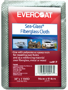 SEA-GLASS FIBERGLASS CLOTH (#75-100912) - Click Here to See Product Details