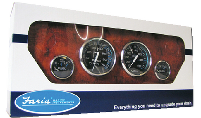 CHESAPEAKE STAINLESS STEEL GAUGES - BOXED SETS (#678-KTF004) - Click Here to See Product Details