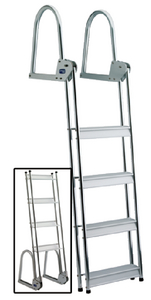 ALUMINUM DOCK / RAFT LADDER (#3-15740) - Click Here to See Product Details