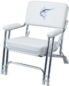 MARINER CHAIR WITH WEATHERPROOF SEWN CUSHIONS (#3-4810661) - Click Here to See Product Details