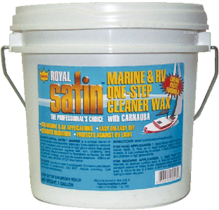 GARRY'S<sup>®</sup> ROYAL SATIN<sup>TM</sup> MARINE & RV CLEANER WAX  - Click Here to See Product Details